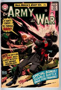 OUR ARMY AT WAR #157 1965-DC WAR COMIC-SGT. ROCK-VG/FN VG/FN