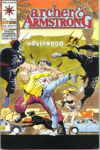 Archer & Armstrong (1992 series) #14, VF+ (Stock photo)