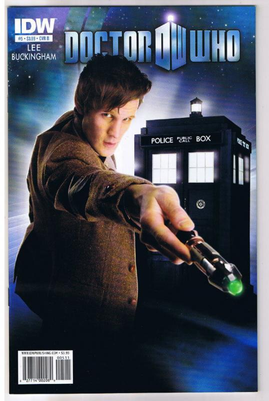 DOCTOR WHO #5 B, NM, Tardis, Amy, Time Lord, Sci-Fi, 2011, IDW, more DW in store