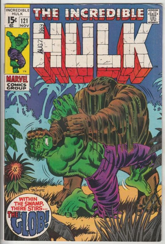 Incredible Hulk #121 (Nov-69) VF/NM High-Grade Hulk