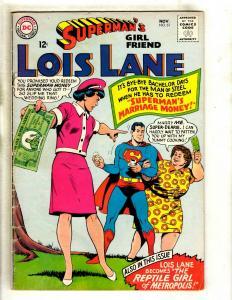 Lot Of 2 Superman's Girlfriend Lois Lane DC Comic Books # 61 102 Batman GK5