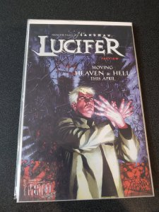 LUCIFER / SWAMP THING Preview, NM ASHCAN NM HARD TO FIND