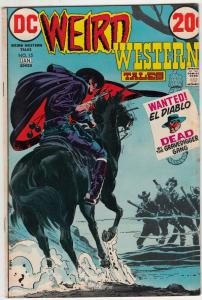 Weird Western Tales #15 (Oct-72) VF- High-Grade Jonah Hex