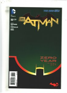 Batman #30 NM- 9.2 DC Comics 2014 New 52 Snyder/Capullo Zero Year High Grade