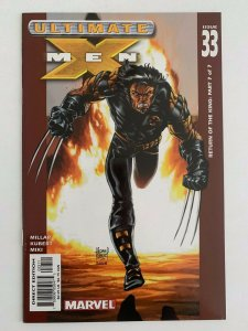 Ultimate X-Men #33 Return of the King Part 7 of 7  (2001 Marvel Comics) NM