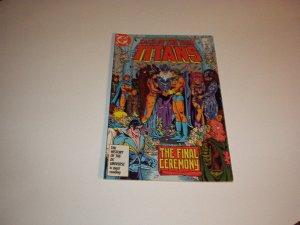 Tales Of The Teen TITANS Comic #76, April 1987 (THE FINAL CEREMONY) New