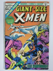 X MEN GS  2 G-VG 1975 NEAL ADAMS reprints COMICS BOOK