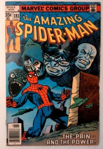 Amazing Spider-Man #181 Marvel 1978 VF+ Bronze Age Comic Book 1st Print