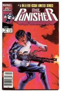 Punisher Limited Series #5 COMIC BOOK  Marvel vf/nm