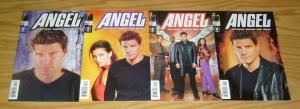 Angel #1-4 VF/NM complete series - buffy the vampire slayer - photo variants set
