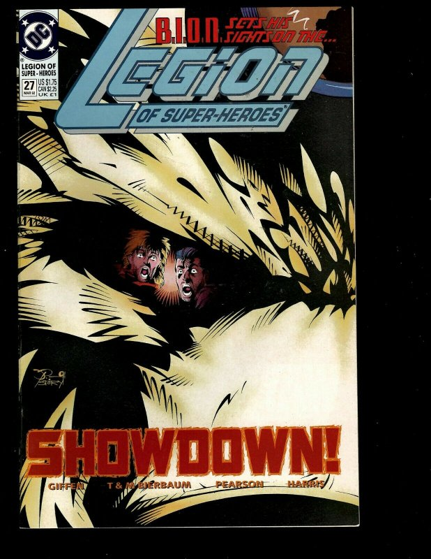 12 Legion Of Superheroes DC Comics #24 25 26 27 28 29 30 31 32 33 '91 '92 GK33