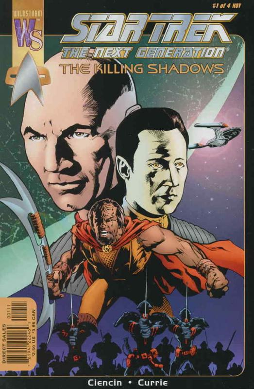 Star Trek: The Next Generation—The Killing Shadows #1 VF/NM; WildStorm | save on