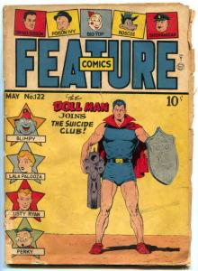 Feature Comics #122 1948- DOLL MAN-  Suicide Club F/G