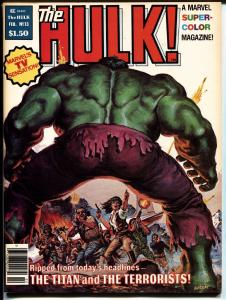 Hulk #13 1978 Comic Magazine  First BILL SIENKIEWICZ story. -MOON KNIGHT.
