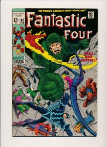 Marvel Comics Fantastic Four #83 (1969) ~ VG/FN (PF164) Jack Kirby, Stan Lee Art