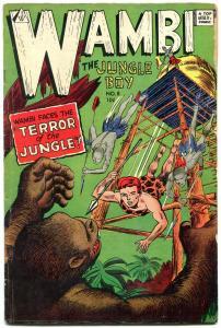 Wambi The Jungle Boy #8 1963- IW Golden Age reprint VG
