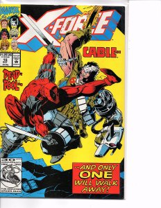 Marvel Comics X-Force Vol. 1 #15 Cable vs. Deadpool Greg Capullo