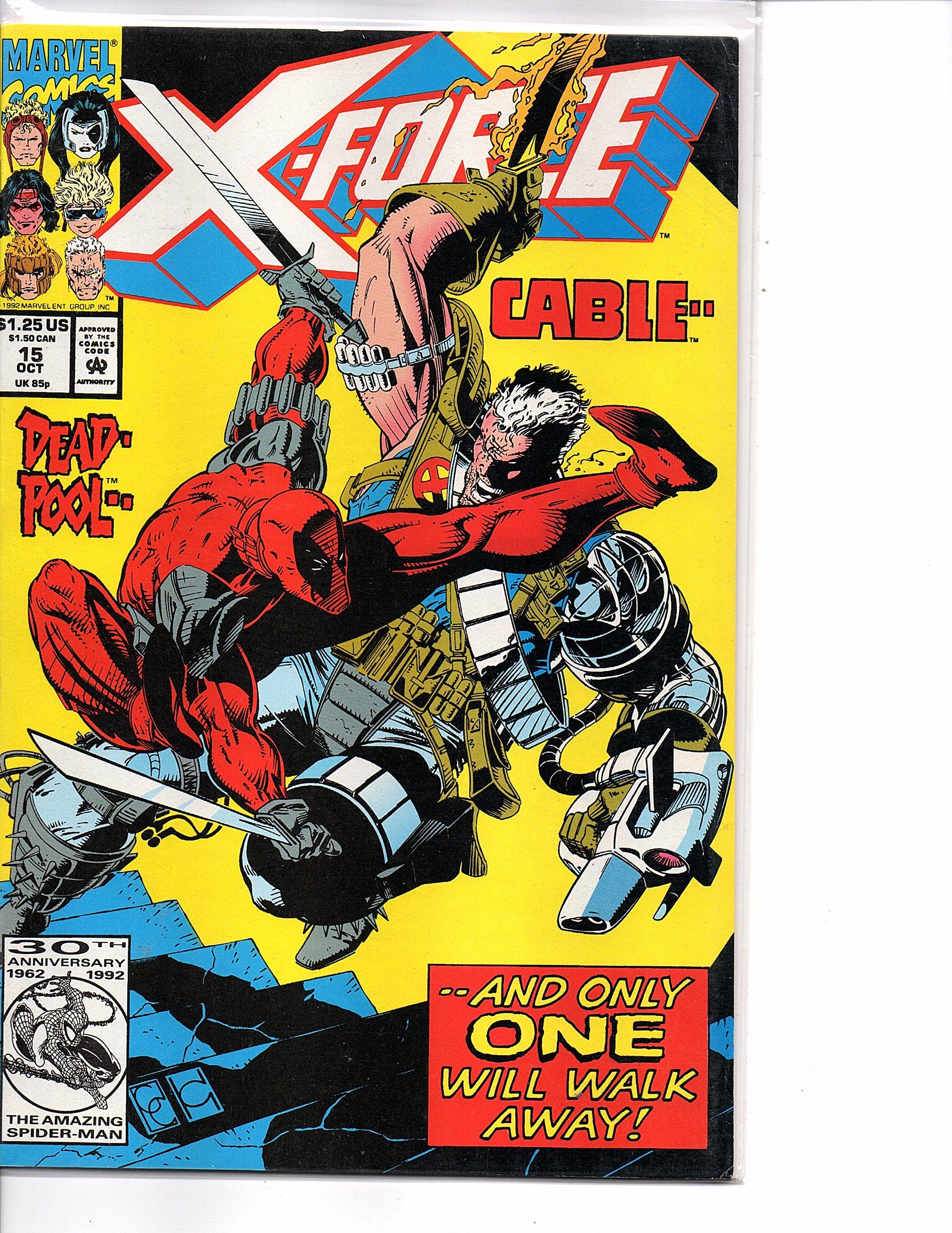X-Force 1991 series # 7 near mint comic book