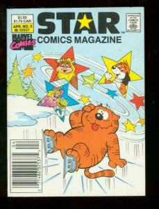 STAR COMICS MAGAZINE #3 1987 DIGEST HEATHCLIF EWOKS VF