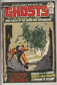 Ghosts #5 (Jun-72) VF High-Grade