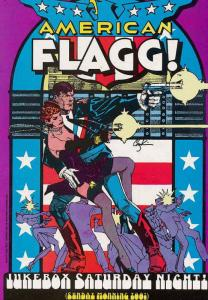 American Flagg #2 VF/NM; First | save on shipping - details inside