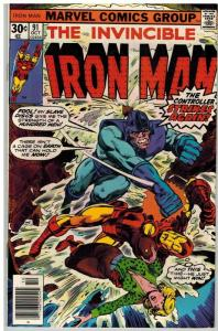IRON MAN 91 FN Oct. 1976