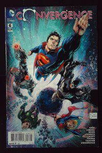 Convergence #6 Variant Cover by T. S. Daniel (2015)