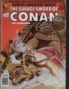 Savage Sword of Conan #80 (Marvel, 1980)