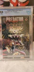 Predator vs. Magnus Robot Fighter #1 PLATINUM CBCS 9.8