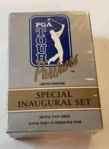 PGA Tour Partners Pro Set Special Inaugural Set 100 pro cards Factory Sealed