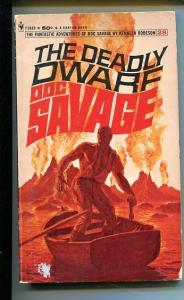 DOC SAVAGE-THE DEADLY DWARF-#28-ROBESON-G-JAMES BAMA COVER G