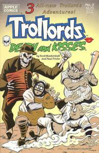 Trollords: Death and Kisses #2 VF/NM; Apple | save on shipping - details inside