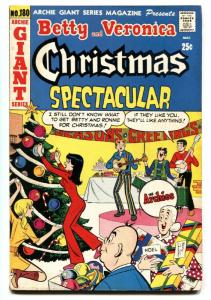 Betty and Veronica Christmas Spectacular- Archie Giant #180 1971- Archies band