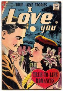 I Love You Comic #16 1957- Charlton Romance- Nice art!!! F/G