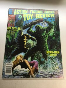 Action Figure News And Toy Review 10 Vf Very Fine 8.0 Magazine