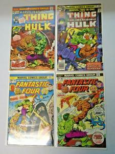 Hulk vs Thing Battle Issues lot all 4 different books avg 7.0 range (years vary)