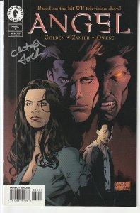 Autographed Angel(Dark Horse, vol. 1) # 5 (No. C.O.A.)