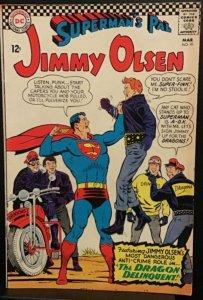 Jimmy Olsen, Superman's Pal  #91 (Mar-66) FN- Mid-Grade Jimmy Olsen