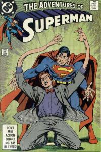 Adventures of Superman (1987 series) #458, NM- (Stock photo)