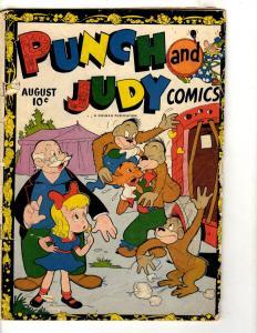 Punch & Judy Comics #1 GD/VG 1946 Golden Age Comic Book Hillman Publication JL17