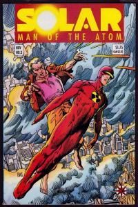 Solar Man of the Atom #3 (1991 Series, Valiant) 1st app. Harada 8.0 VF