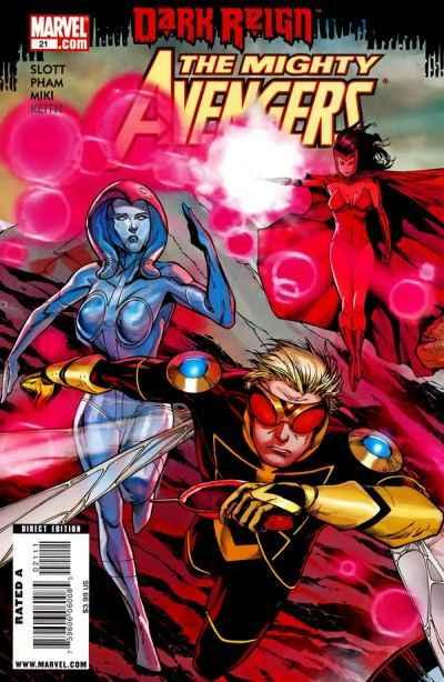 Mighty Avengers (2007 series) #21, NM (Stock photo)
