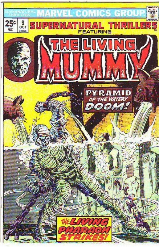 Supernatural Thrillers #9 (Oct-74) VF/NM High-Grade The Mummy