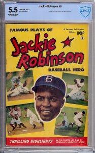 Jackie Robinson #6 (Fawcett Publications, 1952) CBCS 5.5