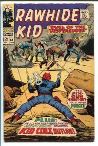 RAWHIDE KID #64 1968-MARVEL-KID COLT-fn minus