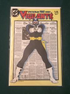 Vigilante #1 SPECTACULAR FIRST ISSUE!