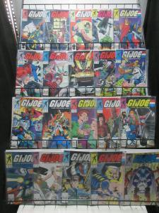 GI Joe (Marvel 1987-9) #65-92 Real American Hero Lot Larry Hama Thrillers
