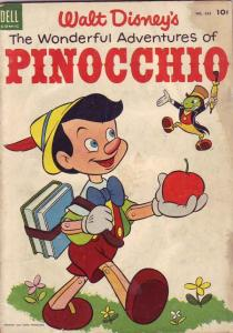 Four Color #545 (May-54) GD/VG Affordable-Grade Pinocchio, Jimminy Cricket