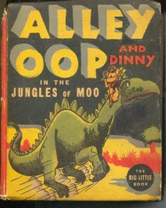 Alley Oop #1473 1938-Whitman-In The Jungles of Moo-V.T. Hamlin-VG-