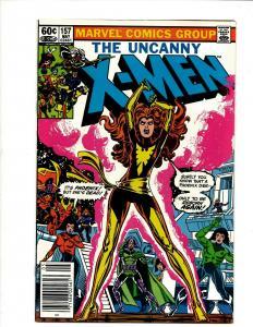 Uncanny X-Men # 157 VF/NM Marvel Comic Book Wolverine Wendigo Storm Cyclops DS4